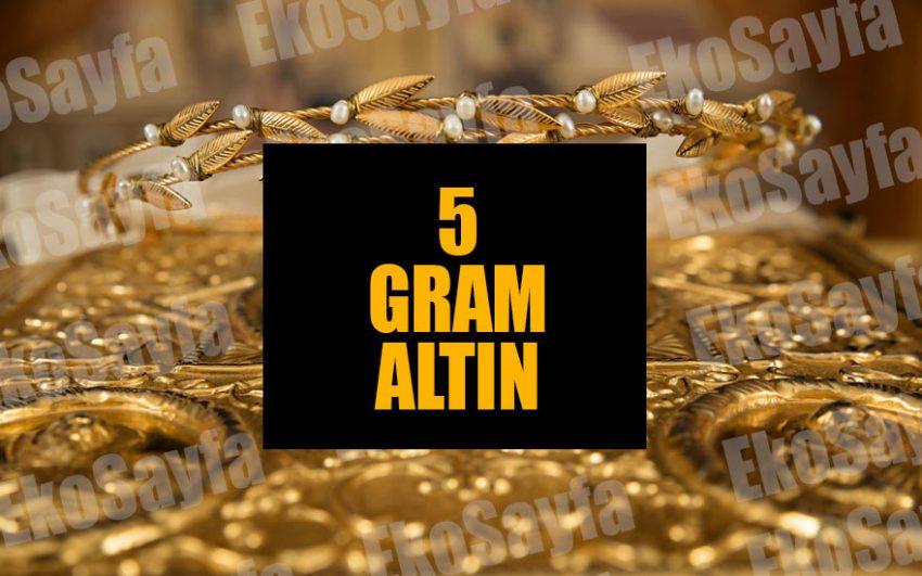 5 Gram Altın